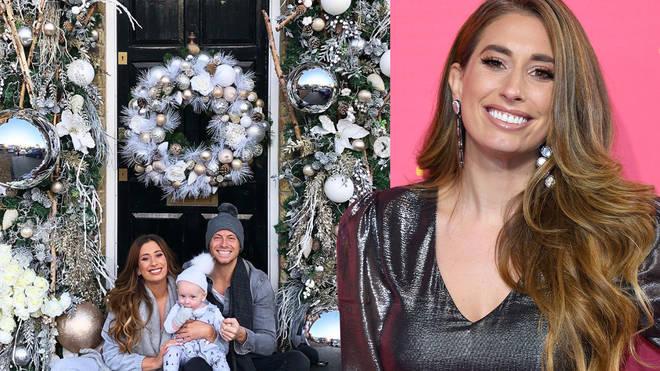 Stacey Solomon reveals amazing Christmas door decorations