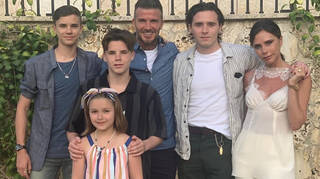 The Beckhams will host a lavish Christmas christening party