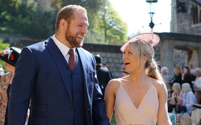 The pair attended the Duke and Duchess of Sussex's wedding