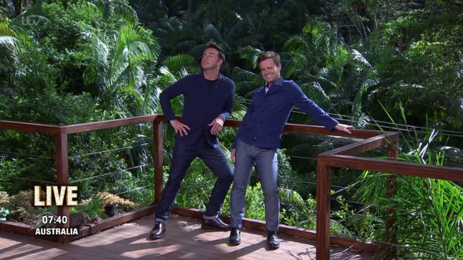 I'm A Celeb viewers were impressed by Dec's bulge last night