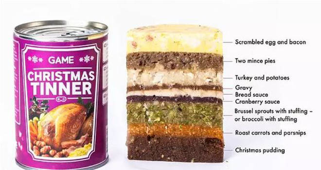 You can get Christmas dinner in a tin