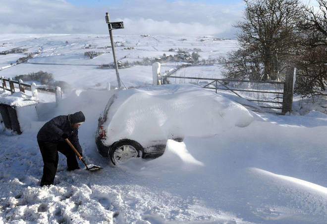 The snow will ensue chaos on Brits, especially those in the highlands
