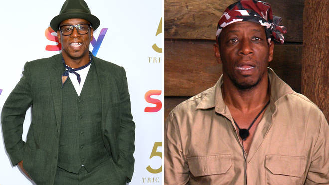 Ian Wright has struggled with the lack of food in camp, and now looks so different