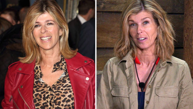 Kate Garraway has also slimmed since entering the jungle