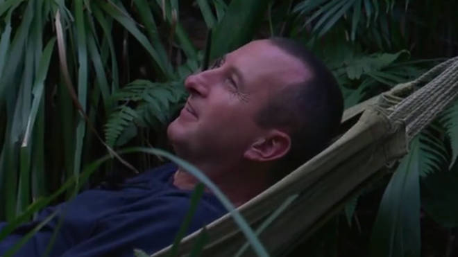 Andy is sitting comfortably with his I'm A Celeb pay out