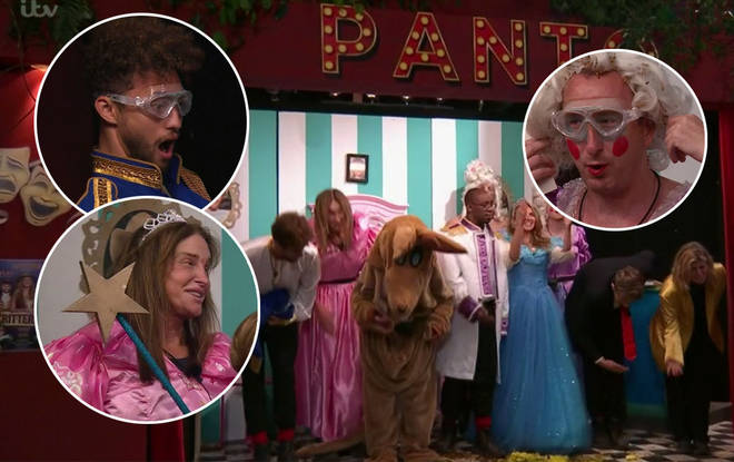 The pantomime went down a huge treat with the fans