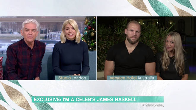 """James Haskell told This Morning he """"unintentionally"""" stepped into a leader roll"""