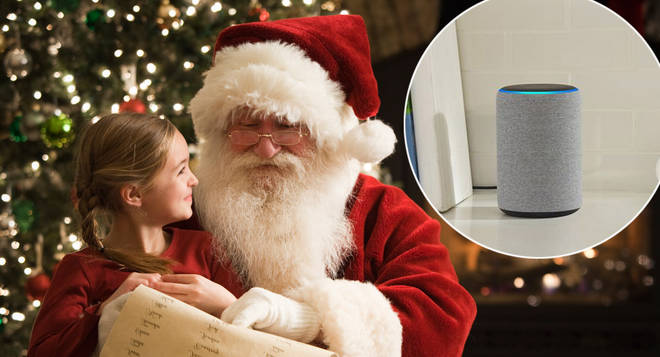 Kids can get a personal message from Santa this Christmas by speaking to Amazon's Alexa