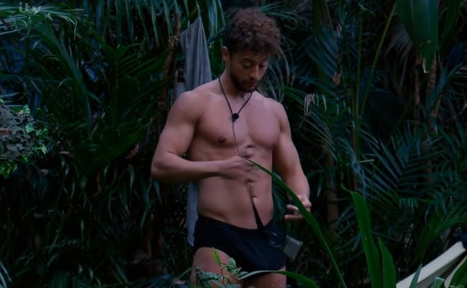 I'm A Celebrity viewers caught a glimpse of Myles' 'bulge'