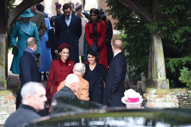 Spending Christmas at Sandringham is a traditional part of royal life