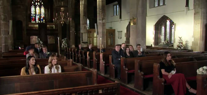 Fans noticed the church was empty