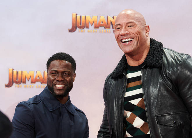 They will appear tonight via video link to promote the new Jumanji film