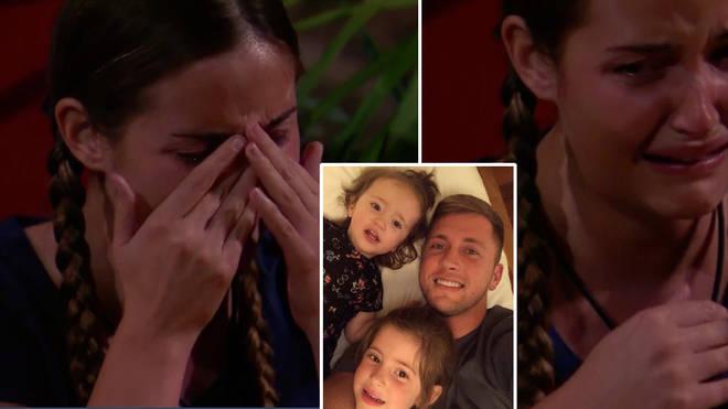 I'm A Celeb's Jacqueline Jossa in tears as she receives letter from Dan Osborne