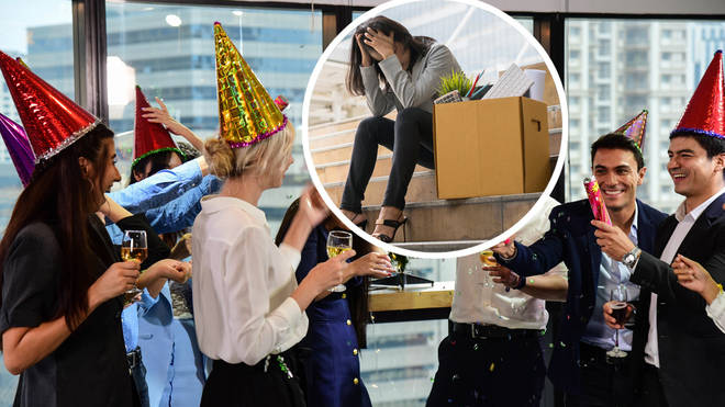 Employment lawyer issues warning that you could be fired for misbehaving at your Christmas work party