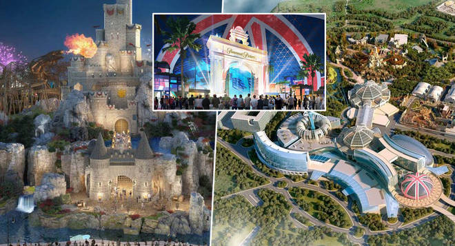 First look at new £3.5 billion London Resort theme park set to be 'the Disneyland of the UK'