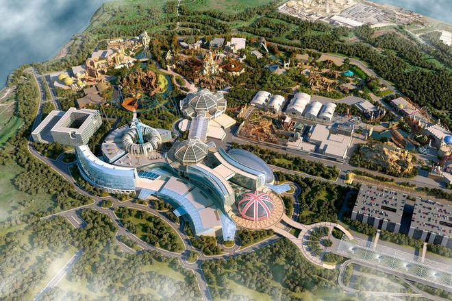 Photos of The London Resort have been released