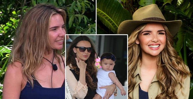 Nadine Coyle is in the I'm A Celeb jungle