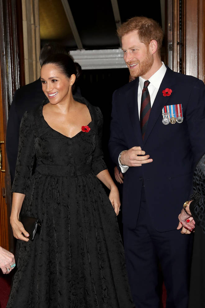 Meghan and Harry's Christmas announced a break from royal duties