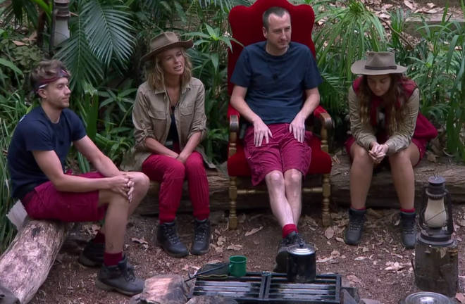 Kate leaves Roman, Andy and Jacqueline to compete for the 2019 jungle crown.