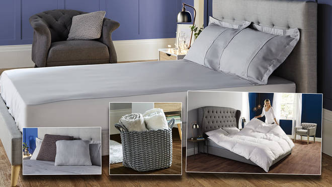 Make your bedroom a sanctuary with Aldi's luxurious White Collection