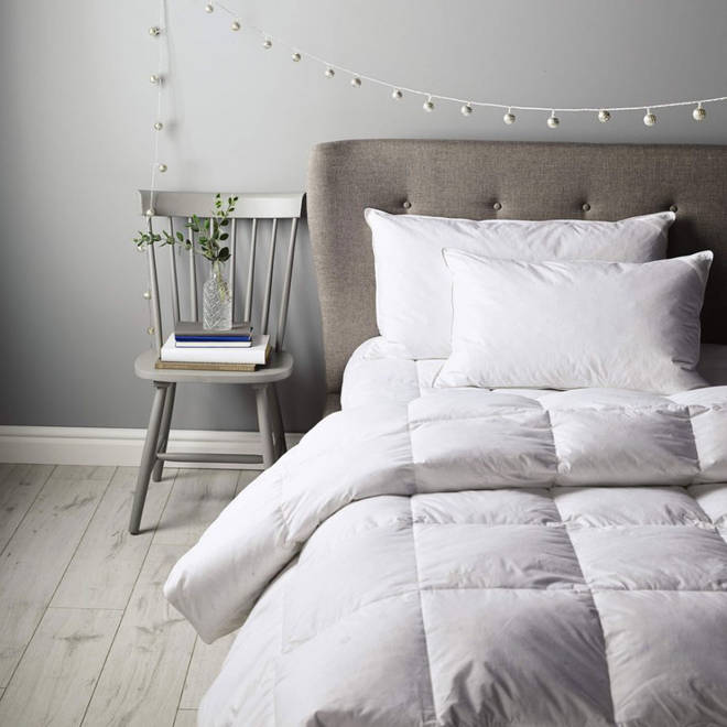 Nothing beats a good night's sleep... sink into bed with Aldi's luxurious bedding