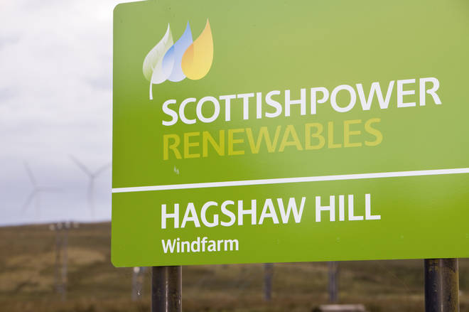 ScottishPower have allegedly registered four accounts in her name.