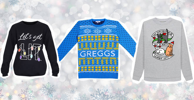 The best novelty Christmas jumpers on the UK high street this year