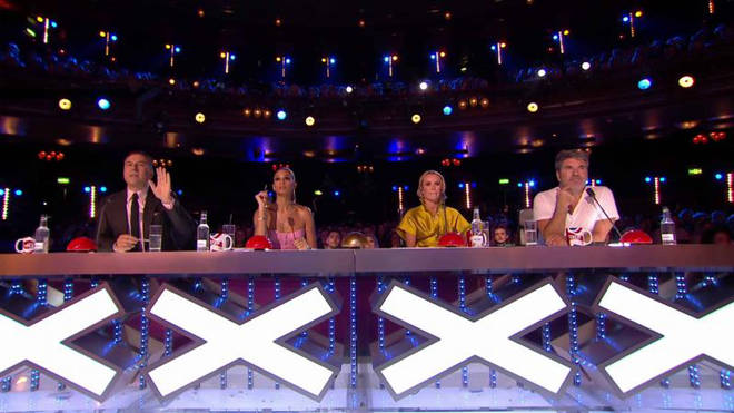 Amanda's been a judge on BGT since it started in 2007