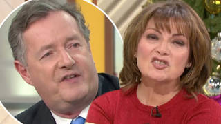 Lorraine Kelly has another savage outburst as she tells Piers Morgan he 'isn't as fat as he used to be'