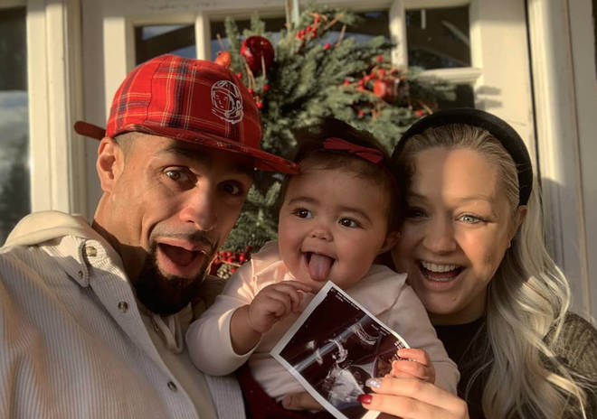 Ashley and his wife Francesca are expecting their second baby