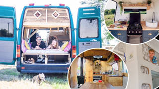 Campervan holidays are surging in popularity.