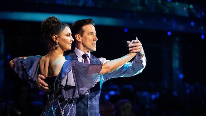Anton and Emma received 36 for their Waltz