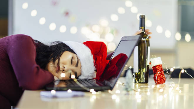 Christmas party season can really take its toll... (stock image)