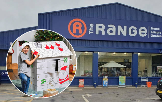 The Range have a variety of Christmas bargains available at the moment