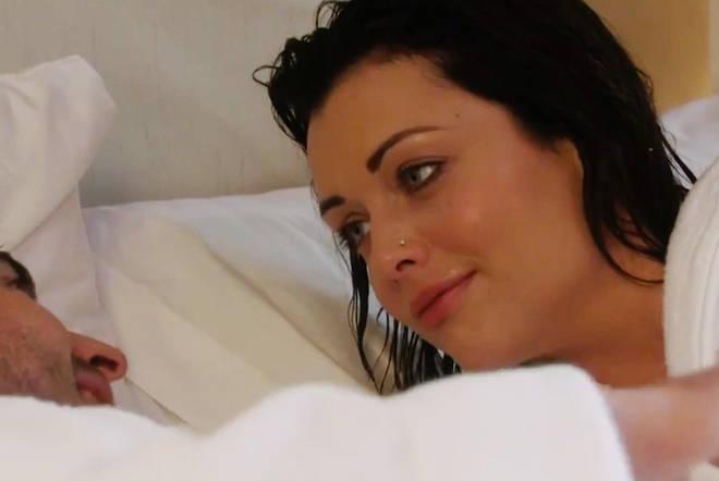 EastEnders viewers ridicule shower sex scene as Whitney rocks perfect makeup following 'intense' romp