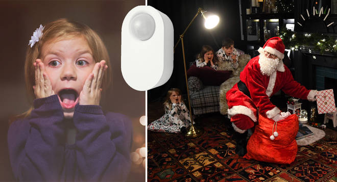 Children can now 'trap Santa' with this gadget