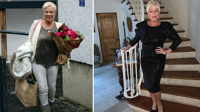 Denise has lost two stone over the past few years