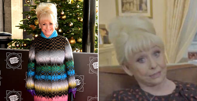 Barbara Windsor delights fans with rare TV appearance on GMB