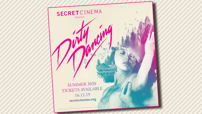 Dirty Dancing gets the Secret Cinema treatment next summer