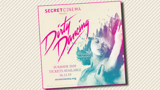 Dirty Dancing gets the Secret Cinema treatment next summer