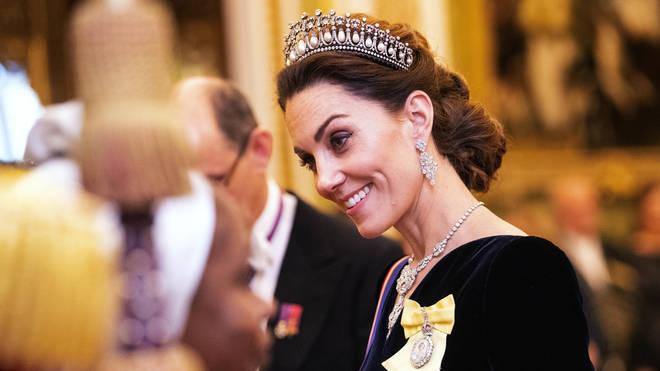Kate Middleton wore the Lover's Knot tiara