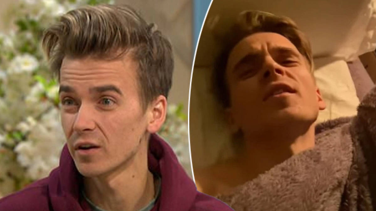 Joe Sugg suffers painful injury training for Strictly Christmas special with girlfriend Dianne Buswell