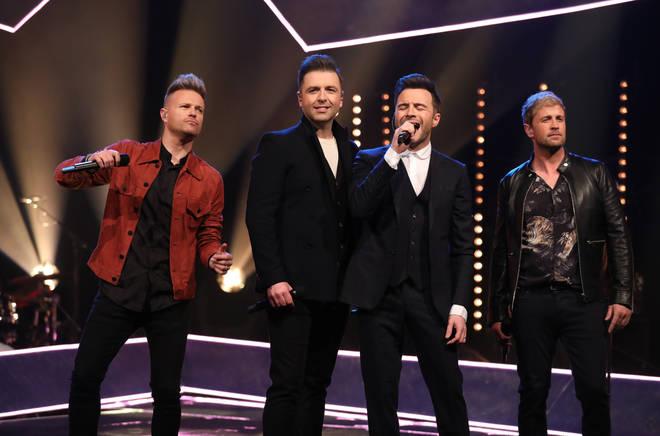 Shane Filan and his Westlife bandmates