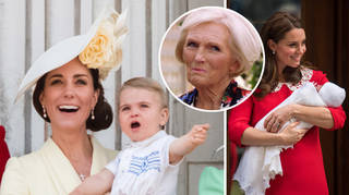 Kate Middleton has revealed Prince Louis' first words