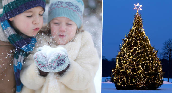 The Met Office has predicted whether it will snow this Christmas