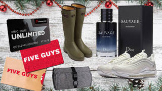 Treat your boyfriend to some amazing presents this Christmas