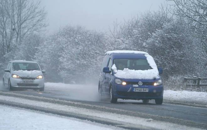 Snow could hit in the UK this Christmas