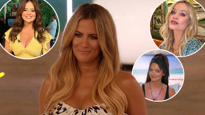 Caroline Flack has stepped down from Love Island