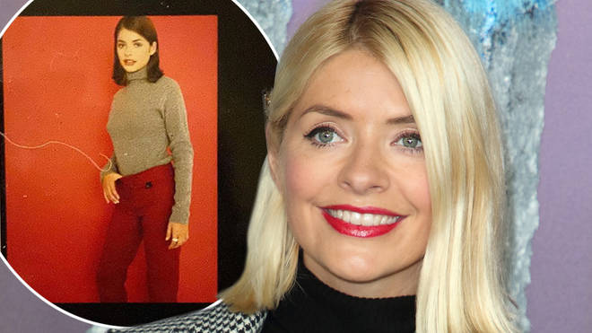Holly Willoughby looks like a different person with brunette hair