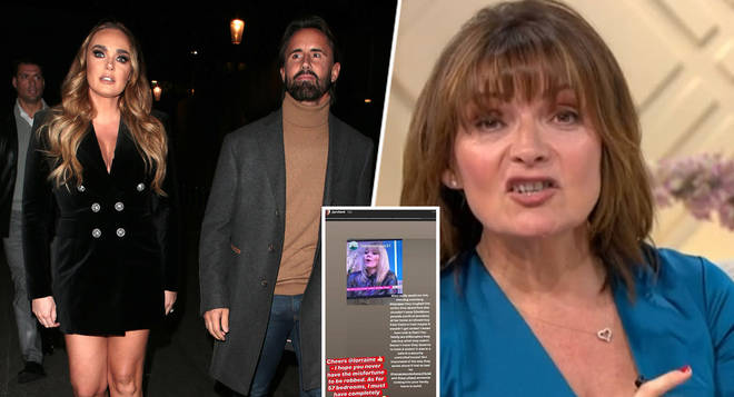 Jay Rutland has slammed Lorraine Kelly